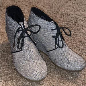 Sparkly Toms Booties